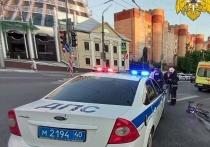 В центре Калуги водитель BMW сбил велосипедиста