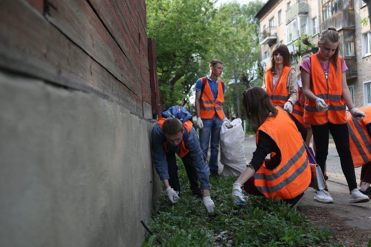 Более 600 костромских подростков записались в экологические отряды по уборке города