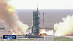 Китайские космонавты отправились к будущей орбитальной станции: видео