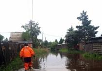 В реках Туве зафиксировано снижение уровня воды