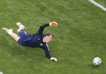 В предельно важном для сборной России матче группового этапа чемпионата Европы с командой Финляндии был забит всего один мяч, который и принес победу команде Станислава Черчесова в Санкт-Петербурге