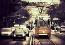 17 июня 2021 года в Томске приступили к ремонту трамвайных путей на Комсомольском проспекте
