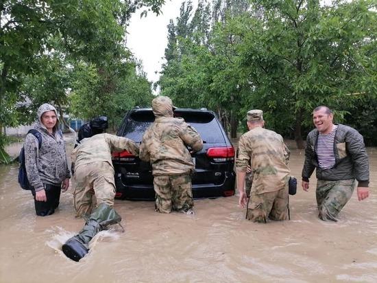 В Керчи ввели режим ЧС из-за ливней и подтоплений