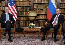 Президент России Владимир Путин и президент США Джо Байден за четыре часа переговоров лишь мельком затронули тему Украины
