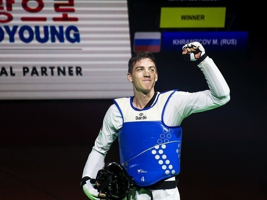 Югорчанин стал победителем Мультиевропейских игр по тхэквондо