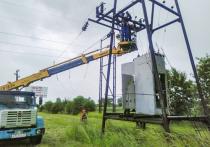 Кубанские энергетики восстановили энергоснабжение пунктов на юго-западе края