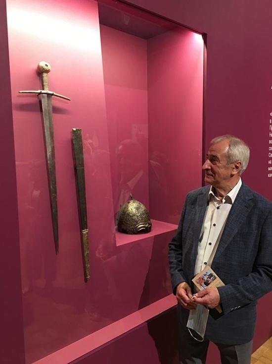 Меч псковского князя Довмонта отправили на выставку в Третьяковскую галерею