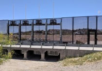 «Здесь мы проводим черту на песке», - заявил, согласно преданию, полковник Уильям Тревис, командующий гарнизоном защитников крепости Аламо во время Мексикано-Американской войны 1846-1848 гг