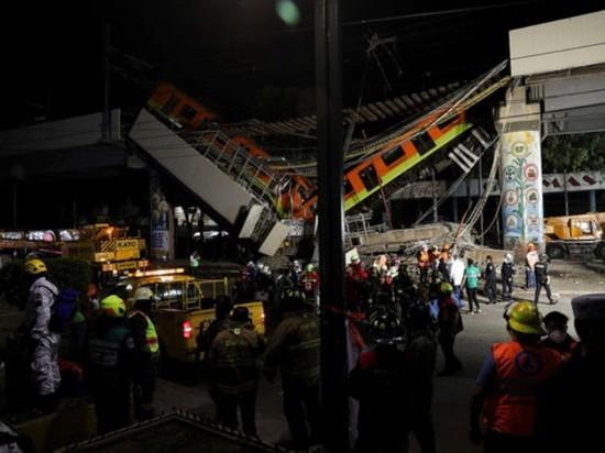 Проверка метро Мехико после обрушения выявила многочисленные дефекты