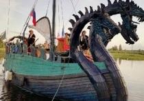Костромичи смогут сделать селфи на фоне «Змея Горыныча»
