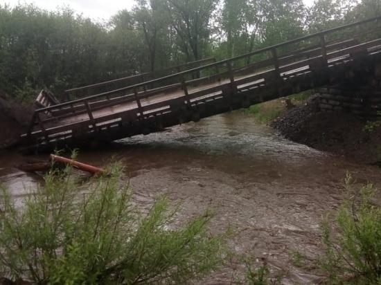 Власти дали список разрушенных мостов, домов и дорог в Забайкалье