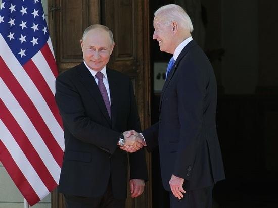 «Сон прерывался встречей»: китайцы «лучший» результат встречи Путина и Байдена