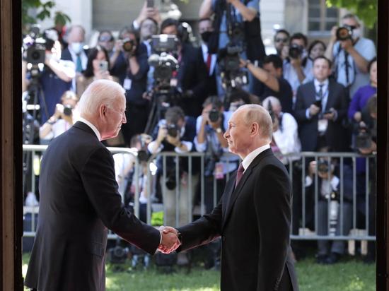 В Женеве в среду прошла первая встреча президентов России и США Владимира Путина и Джо Байдена