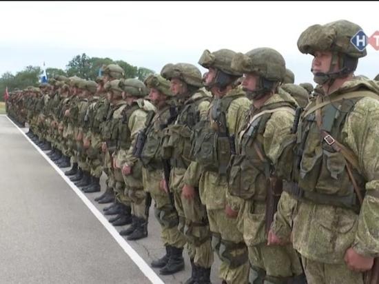 """На Кубани начались военные учения """"Славянское братство — 2021"""""""