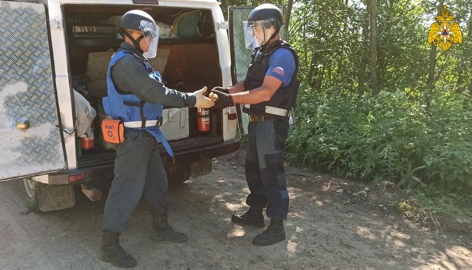В Тверской области нашли 350 взрывоопасных снарядов, мин и гранат