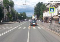 В Кирове «Жигули» пешеходном переходе сбили женщину