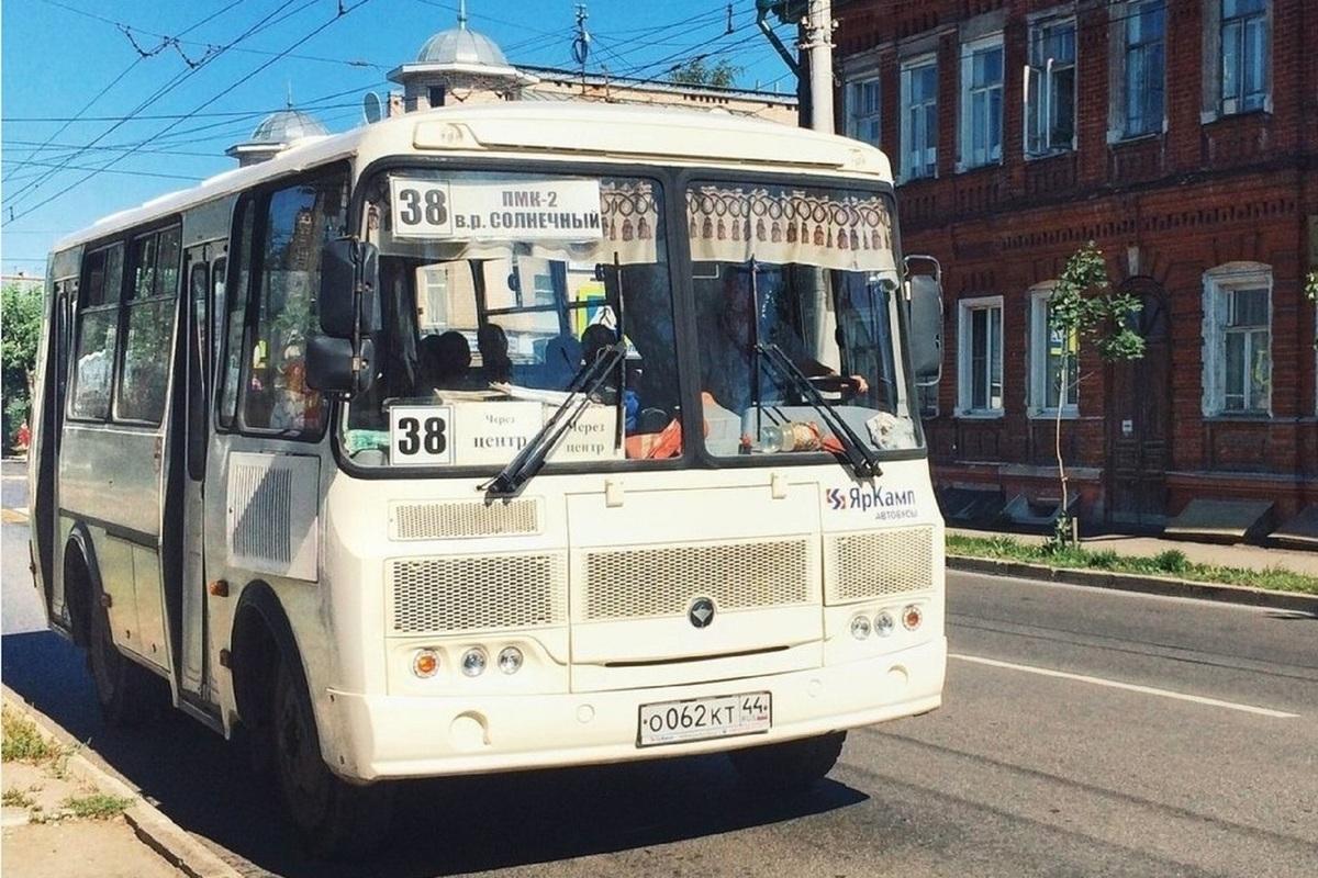 С 21 июня костромские автобусы №38 и №14 изменят маршруты