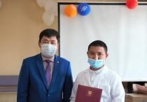Мэр столицы Тувы  вручил медикам благодарственные письма