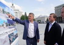 Партия власти поможет реконструировать Советскую площадь в Уфе