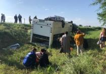 При ДТП с автобусом на Кубани пострадали 7 человек