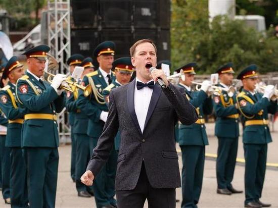 Военные оркестры съехались на фестиваль на Кавминводы