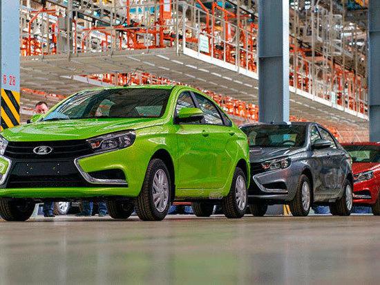 Осенью 2021 года в столице Удмуртии выпустят первую крупную партию автомобилей Лада Веста последнего поколения