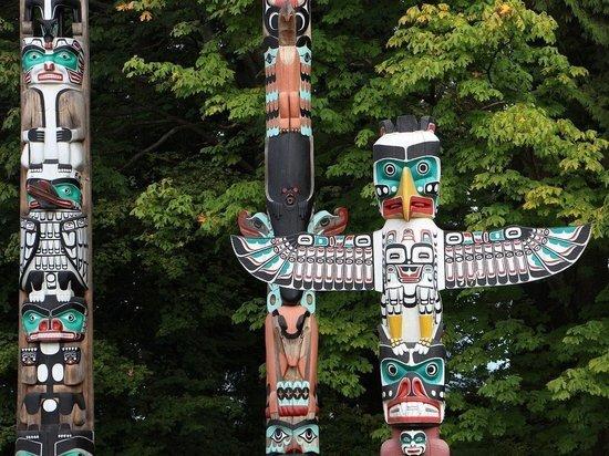 Индейцы привезут 22-тонный тотем в Вашингтон для защиты священных земель