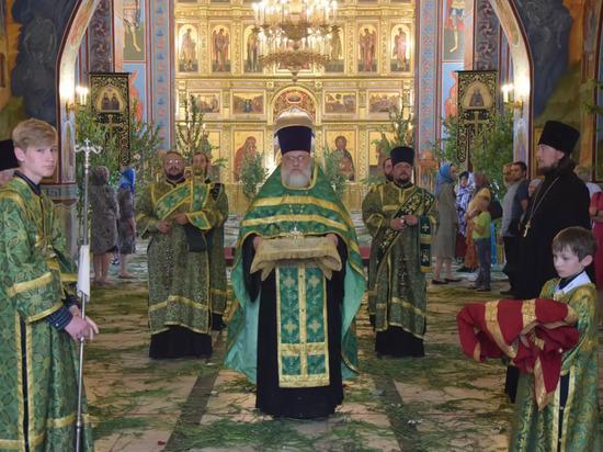 Православные Хакасии отмечают Троицу