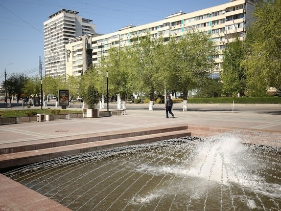 После длительных дождей в Волгоград пришла жара до + 35°С