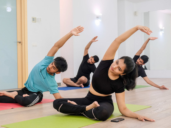 В Волгограде отметили Международный день йоги занятиями и танцами