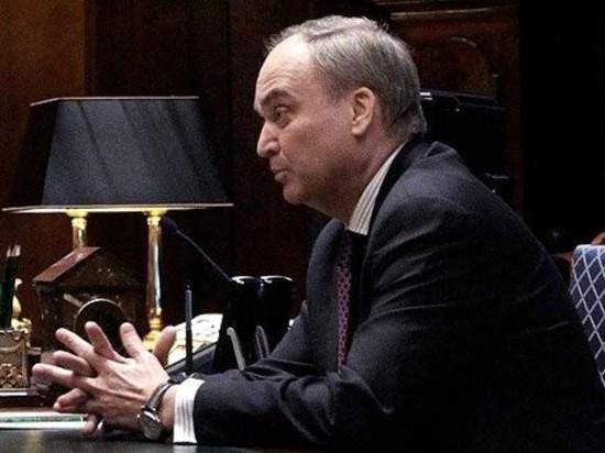 Посол России Анатолий Антонов вернулся в США