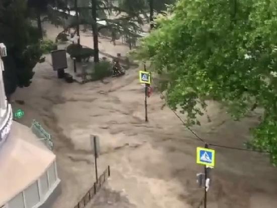 В Ялте нашли пропавшего после потопа мужчину