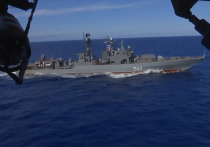 Группировки разнородных сил Тихоокеанского флота в ходе оперативного учения отработали задачи по уничтожению авианосной ударной группы условного противника