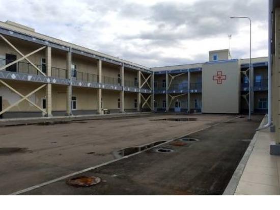 В Бурятии военный ковидгоспиталь начал принимать гражданских больных