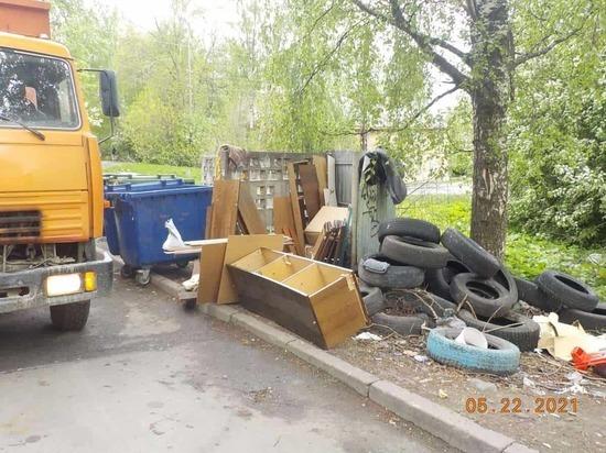141 тысячу рублей штрафов выписали за неубранные мусорные площадки Петрозаводска
