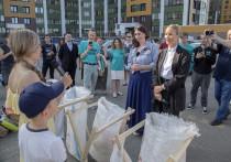 Елена Летучая прилетала в Киров по важным мусорным делам