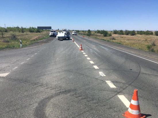 В Новоорском районе случилась авария, два человека пострадали