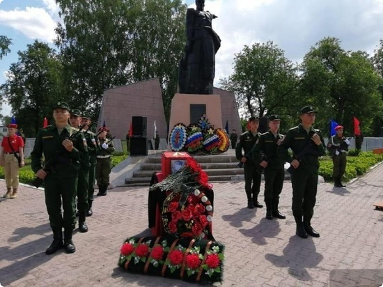 В Туринске похоронили останки погибшего красноармейца Якова Шевелёва