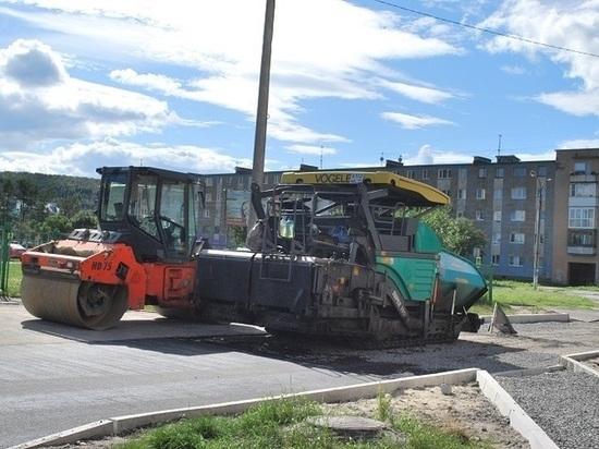 До осени в Мурманской области должны отремонтировать 250 дворовых территорий