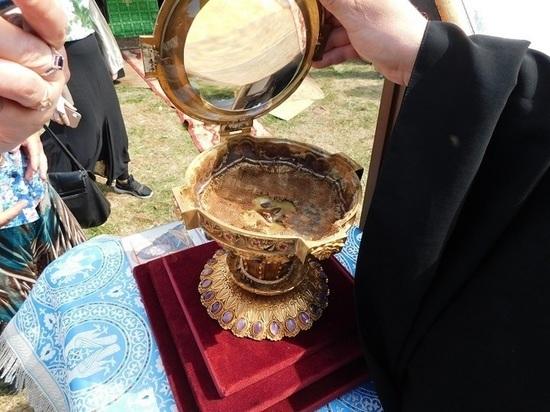 Мощи Варлаама Керетского провезли по храмам Мурманской епархии