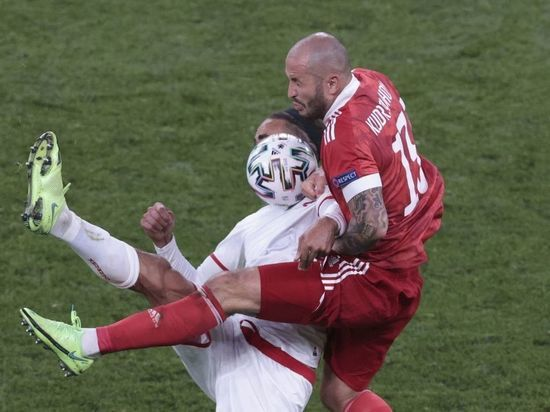 Датчане забили третий гол в ворота России