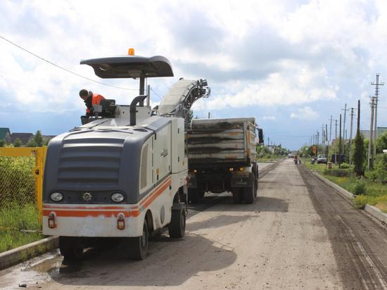 Дорожники начали капремонт дороги в барнаульском поселке Авиатор