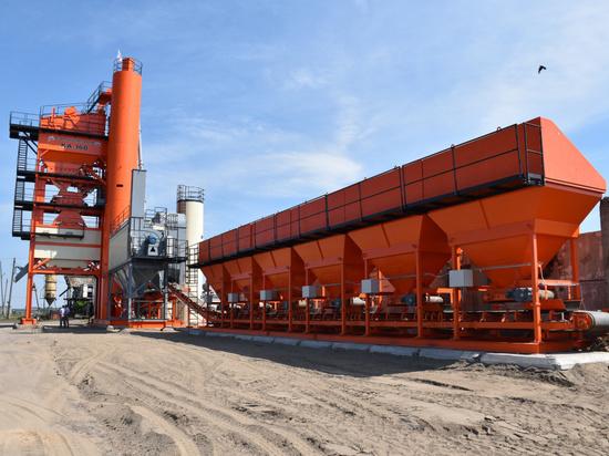 Для ремонта трассы А-321 на Алтае построили асфальтобетонный завод