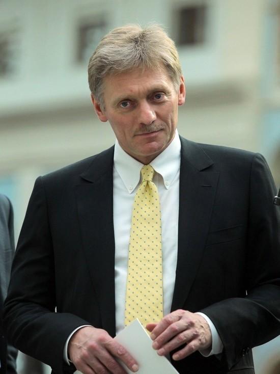 Песков прокомментировал публикацию статьи Путина в немецкой газете