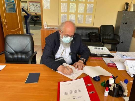 Вассерман подал в окружную комиссию документы на выдвижение кандидатом в депутаты Госдумы
