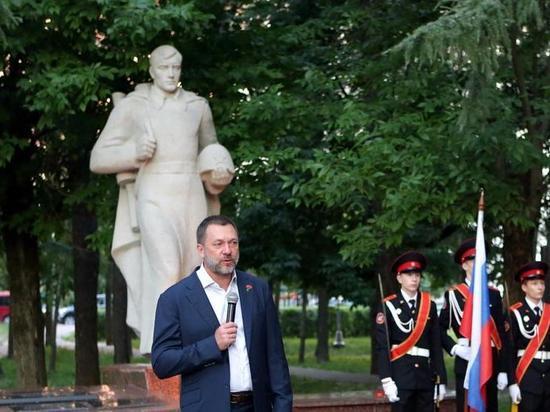 Дмитрий Саблин: «Каждая зажжённая свеча памяти — это наша защита от искажения истории России»
