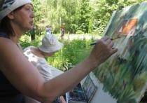 Пленэр карельских художников проходит в Серпухове