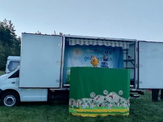 В белгородском хуторе Жилин провели концерт для местный жителей