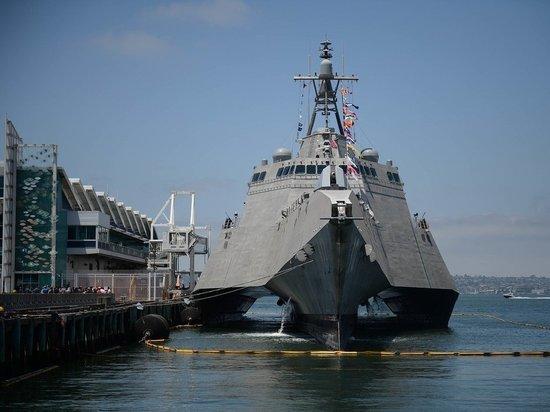 Китай выразил протест Америке из-за прохода эсминца через Тайваньский пролив