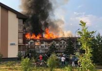 «В доме не было громоотвода»: челябинцы обсуждают пожар в микрорайоне Залесье